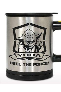 Star Wars Self Stirring Thermo Hrnek Yoda