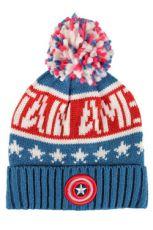 Captain America Čepice Knitted Logo