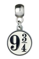 Harry Potter Talisman Platform 9 3/4 (silver plated)