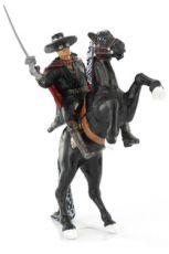 Zorro Mini Figurka Zorro & Tornado 12 cm