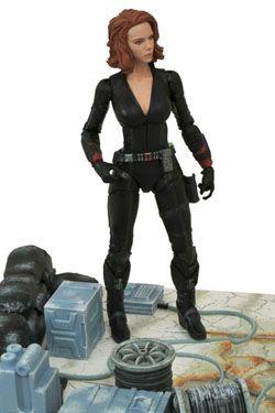 Avengers Age of Ultron Marvel Select Akční Figure Black Widow 18 cm