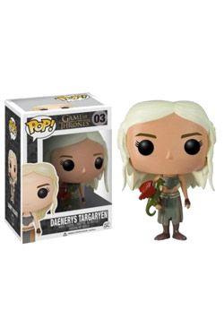 Game of Thrones POP! vinylová Figure Daenerys Targaryen 10 cm Funko