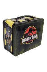 Jurassic Park Tin Tote Logo