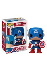 Marvel Comics POP! vinylová Bobble-Head Captain America 10 cm
