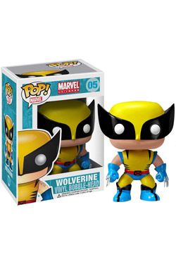 Marvel Comics POP! vinylová Bobble-Head Wolverine 10 cm Funko