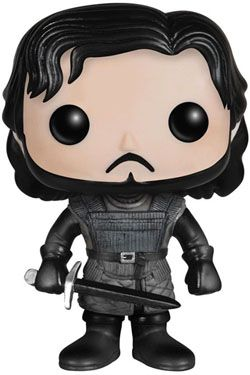 Game of Thrones POP! Vinyl Figurka Jon Snow Castle Black 10 cm