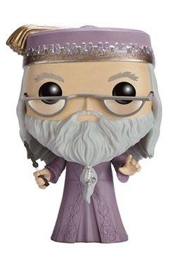 Harry Potter POP! Movies vinylová Figure Dumbledore with Wand 9 cm Funko