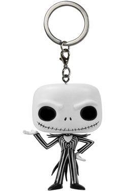 Nightmare Before Christmas Pocket POP! vinylová Keychain Jack Skellington 4 cm Funko