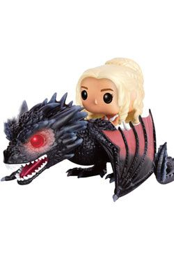 Game of Thrones POP! Rides vinylová Figure Daenerys & Drogon 18 cm Funko