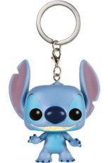 Lilo & Stitch Pocket POP! vinylová Keychain Stitch 4 cm