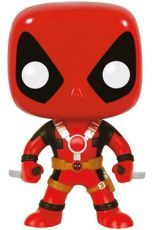 Marvel Comics POP! vinylová Bobble-Head Deadpool Two Swords 10 cm Funko