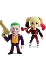 Suicide Squad Metals Kov. Mini Figures 2-Pack Joker & Harley Quinn 10 cm