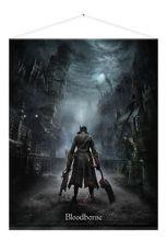 Bloodborne Plátno Night Street 100 x 77 cm