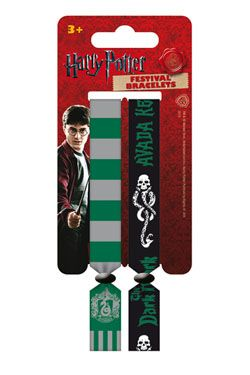 Harry Potter Festival Náramek 2-Pack Zmijozel Pyramid International
