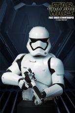 Star Wars Episode VII Bysta 1/6 First Order Stormtrooper Deluxe MB 16 cm