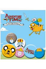 Adventure Time Pin Placky 6-Pack Jake