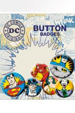DC Comics Pin Placky 6-Pack Villains