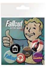 Fallout Pin Placky 6-Pack Mix 2