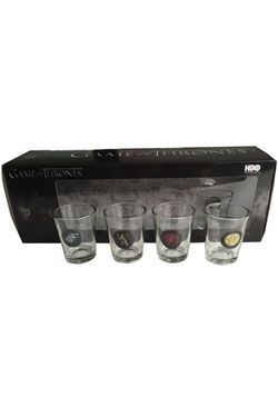 Game Of Thrones Sada Panáků 4-Pack Pyramid International