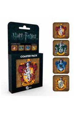 Harry Potter Podtácky 4-pack Crests