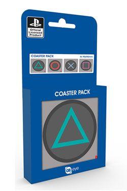 Playstation One Podtácky Buttons 4-Pack