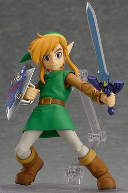 The Legend of Zelda A Link Between Worlds Figma Akční Figure Link 11 cm