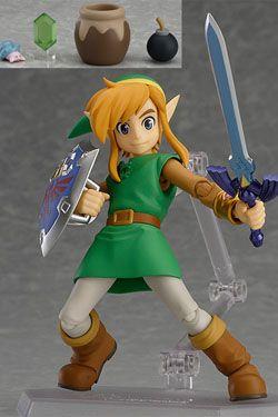 The Legend of Zelda A Link Between Worlds Figma Akční Figurka Link DX Edition 11 cm