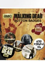 Walking Dead Pin Placky 6-Pack Mix