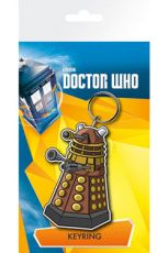 Doctor Who Gumový Keychain Dalek 7 cm