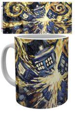 Doctor Who Hrnek Exploding Tardis