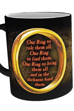 Lord of the Rings Heat Měnící Hrnek One Ring