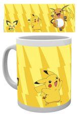 Pokemon Hrnek Pikachu Evolve