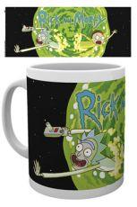 Rick and Morty Hrnek Logo