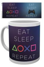 Sony PlayStation Hrnek Eat Sleep Repeat
