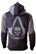 Assassins Creed IV Black Flag Hooded Mikina Logo Velikost L