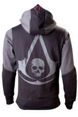 Assassins Creed IV Black Flag Hooded Mikina Logo Velikost L
