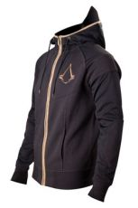 Assassins Creed Syndicate Zipper Hoodie Bronze Logo Velikost XL