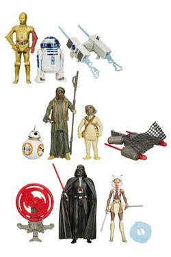 Star Wars Akční Figures 10 cm 2-Packs 2015 Wave 1 Revision 1 Sada (8)