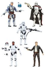 Star Wars Episode VII Black Series Akční Figures 15 cm 2016 Wave 1 Sada (6)