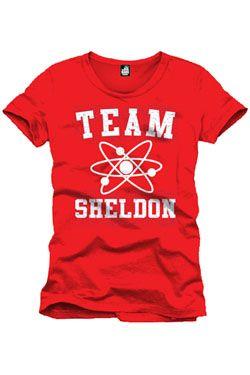 The Big Bang Theory Tričko Team Sheldon red Velikost L