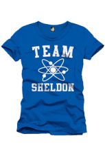 The Big Bang Theory Tričko Team Sheldon Velikost L