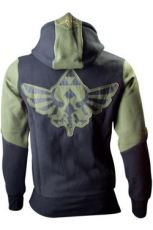 The Legend of Zelda Hooded Mikina Green Character Velikost M