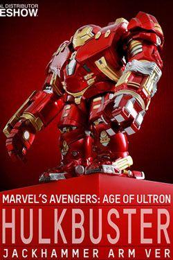 Avengers Age of Ultron Artist Mix Figurka Hulkbuster Jackhammer Arm Ver. 14 cm