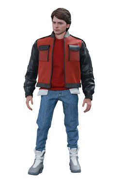 Back to the Future II Movie Masterpiece Akční Figurka 1/6 Marty McFly 28 cm