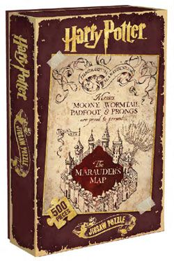 Harry Potter Jigsaw Puzzle Marauder's Map Half Moon Bay