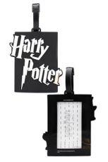 Harry Potter Gumový Jmenovka na zavazadlo Tag Logo