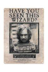 Harry Potter Tin Sign Sirius Black 41 x 32 cm