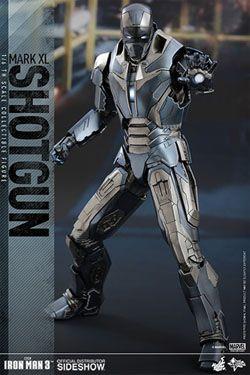 Iron Man 3 Movie Masterpiece Akční Figurka 1/6 Iron Man Mark XL Shotgun 30 cm