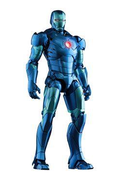 Iron Man MMS Kov. Akční Figurka 1/6 Iron Man Mark III Stealth Mode Ver. Summer Exclusive 30 cm