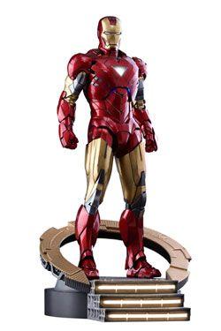 Marvel's The Avengers Movie Masterpiece Kov. Akční Figurka 1/6 Iron Man Mark VI 32 cm